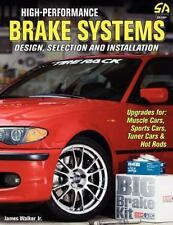 High-Performance Brake Systems by James Walker Paperback Book New book on sale