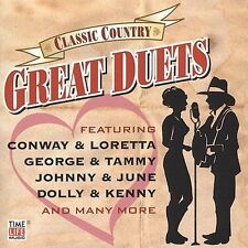 Johnny Cash & June Carter, Conwa, Classic Country Great Duets, Excellent