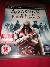 Assassins Creed Brotherhood Sony Playstation 3 PS3 Game UK PAL ** aucun MANUEL **