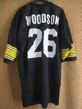 Maillot Steelers Pittsburgh Jersey Champion Woodson Football Americain - 48 / XL