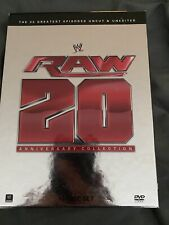 WWE: Raw 20th Anniversary Collection - 20 Greatest Episodes 12 Disc DVD Set