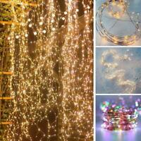 Twinkle Starry Sky Lights 200 Led Waterfall Tree Vine String Lights Lights Decor