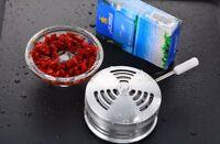 Aluminum Cloud Heat Management Shisha Bowl Silver Hookah Tray Heat Charcoal