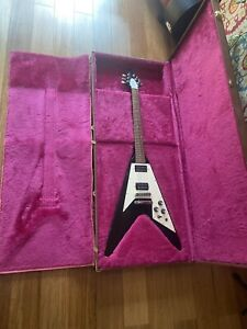1989 Gibson Flying V Excellent Condition W/ Original Hard Shell Locking Case