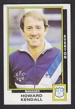 Panini Fútbol 86 - # 88 Howard Kendall-Everton