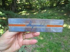 "1936 Hupmobile Radio Delete Original condition 7"" x 1 5/8"""