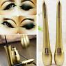 Waterproof Lasting Eyeliner Beauty Make UP Liquid+Eye Liner Pencil Pen 1PC Black