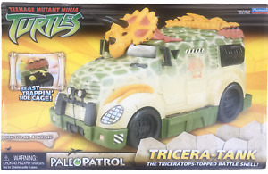 Teenage Mutant Ninja Turtles Paleo Patrol Tricera-Tank NEW 2006 Triceratank Van