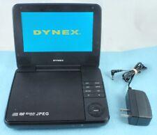"Dynex DX-P7DVD11 7"" LCD Portable DVD Player Black - Used"