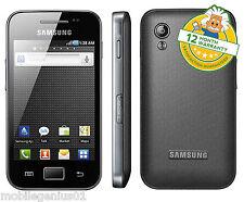 SAMSUNG Galaxy Ace GT-S5830i - Onyx Nero (Sbloccato) Smartphone Garanzia Grado B