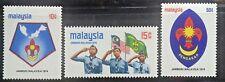 MALAYSIA 1974 SCOUT JAMBOREE SG 115 - 117 MNH OG