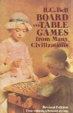 NEW Board and Table Games from Many Civilizations by R. C. Bell
