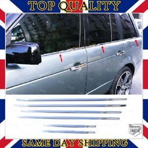 Chrome Window Frame Trim 6 pcs S.Steel For Range Rover Sport LS 2005-2013