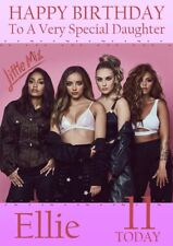 personalised birthday card little Mix any name/age/relation