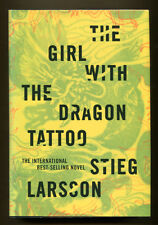 THE GIRL WITH THE DRAGON TATTOO by Stieg Larsson - 2008 1st U. S. Edition in DJ