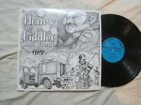 HENRY THE FIDDLER AND FRIENDS The First Album (1977) LP Folk Fiddle Bluegrass