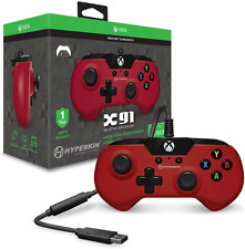 Hyperkin X91 Wired Controller (Red) Xbox One and Windows 10