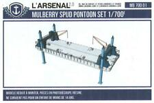 L'Arsenal Models 1/700 MULBERRY PORT SPUD PONTOON Resin Set