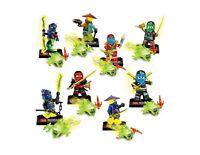 Ninja set  Ninjagoes Minifigures iluminador Building Blocks Set 8