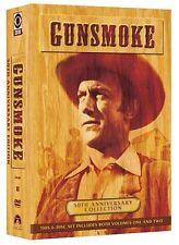 GUNSMOKE 50th ANNIVERSARY Set COLLECTION VOL 1 + 2 DVD Episodes Film Show series