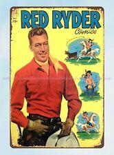 New Listingman cave plaques Red Ryder Comics 1952 Jim Bannon tin sign