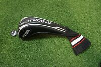 Honma Golf Tour World Black Hybrid Headcover Head Cover Very Good