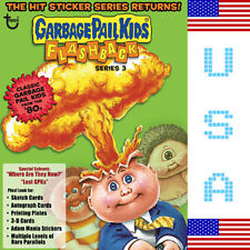 2011 USA Garbage Pail Kids FLASHBACK 3 COMPLETE Set - FB