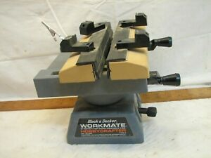 "Black & Decker 8"" Workmate Hobbycrafter Bench Top Center & Vise Tool Hobby Craft"