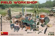 Miniart 35591 - 1/35 scale - FIELD WORKSHOP World War II Plastic model kit
