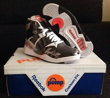 Autograph Reebok Pump Size 9 NBA Player Dominique Wilkins Signed DS