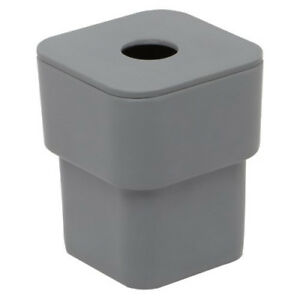 NEW Umbra Scillae Gray Melamine Canister with Lid