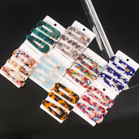3PCS/Set Fashion Hairpins Barrettes Pearls Geometric Hair Clips For Women Girls