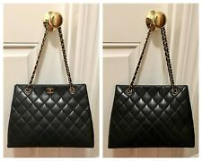 ab1076c6 CHANEL Pebbled Bags & Handbags for Women for sale | eBay