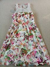 Charlie Brown floral spring dress - size 10 - NEW