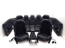 Audi A4 8W Limo Innenausstattung Lederausstattung Sitzheizung Sitze Verkleidung
