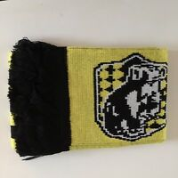 Harry Potter Hufflepuff Scarf Yellow Black Striped Badger House