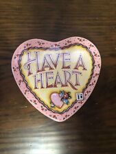 Vintage 1997 Mary Engelbreit�Have A Heart� Tin