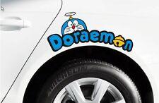 Cartoon Doraemon CAT Kitty Lamp Decal Sticker Car Eyelashes Decal Daemon Light