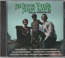 Celio Gonzalez - Nueva Vida - Rare Non-Remastered New CD - 1203