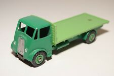 # DINKY TOY 513 GUY FLATBED TRUCK GREEN TWO TONE EXCELLENT CONDITION REPAINT