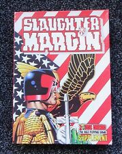 Games Workshop Judge Dredd Roleplaying Game SLAUGHTER MARGIN UNPUNCHED BOX SET