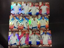 2014 Panini Prizm World Cup England Lot 12 Diff Refractor Lampard Steven Gerrard