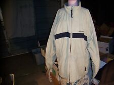 ABERCROMBIE AND FITCH BEIGE TAN LARGE COAT JACKET