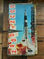 Countdown Space Board Game by Lowe Vintage Retro