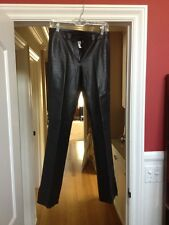 Vintage Black Leather Pants from Cache Boutique
