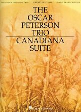 The Oscar Peterson Trio Canadiana Suite Learn to Play Piano Music Book