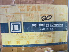 Square D Fal24020 2 Pole 20 Amp 480 Volt Old Style Circuit Breaker New