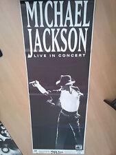 MICHAEL JACKSON  1992   ORIG. CONCERT POSTER   168 x 60 cm   FRANKFURT