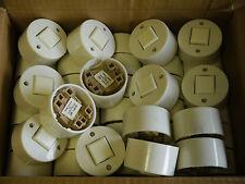 30 Aufbau Taster weiß DDR Plaste 60W 250V Flächentaster Schalter Drucktaster
