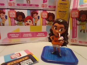 Disney Princess Ralph Breaks The Internet Mini Figure Doll moana BNWT bandai